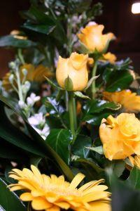 Bloemenverkoop
